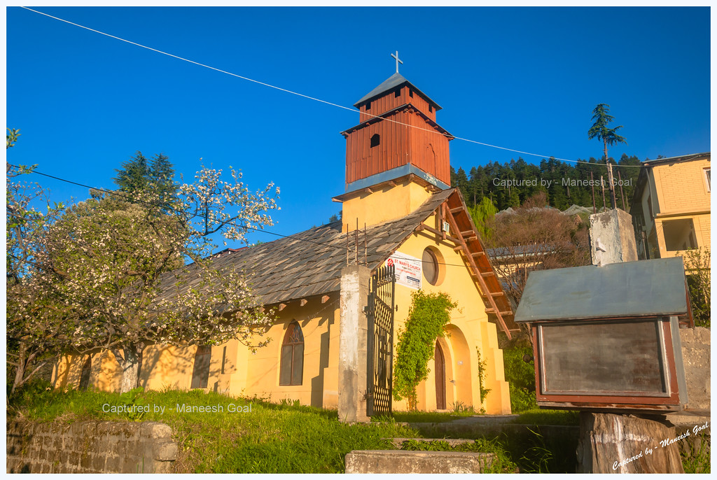 St. Mary's Church (Built in mid-19th Century) | Kotgarh