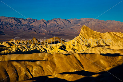 Sun on Zabriskie Point