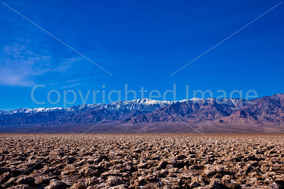 Landscape in Death Valley