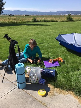 Victor, Idaho  for total solar eclipse