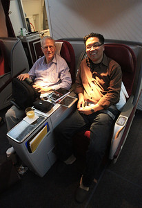Dan Luss and Gino Lim, ready for takeoff