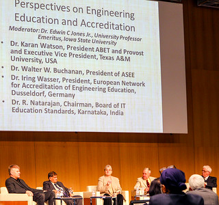 Tuesday Noon Panel on Engineering Education and Accreditation, at the World Conference on Engineering Education