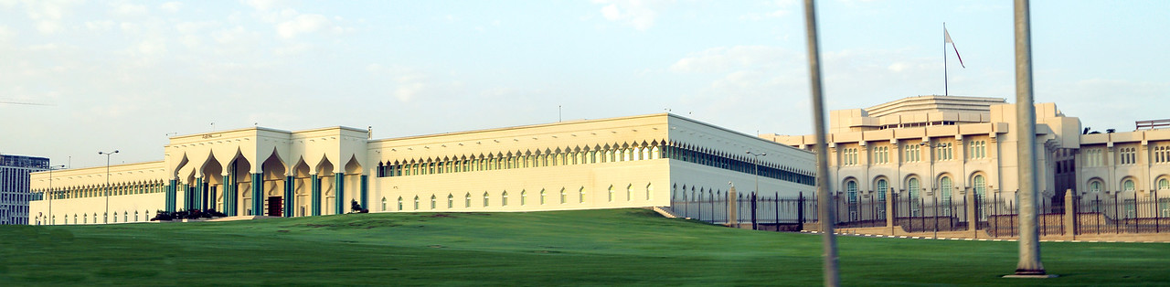 The Emir's Palace in Doha
