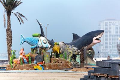 Marine Festival creatures