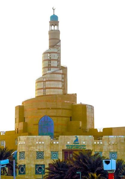 """Qatar Mosque"" in Doha"