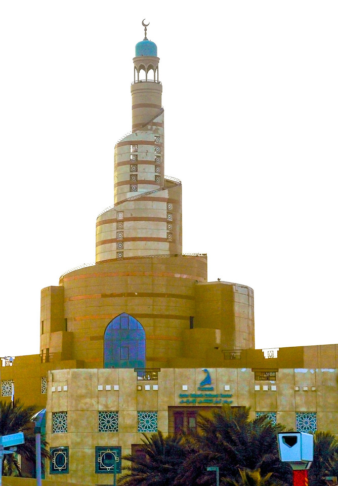 """Qatar Mosque"" in Doha"