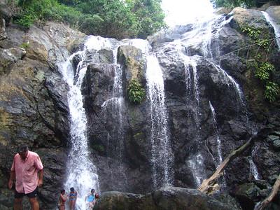 Cool Crisp Water at Argyle Waterfalls in Tobago