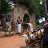 Voodoo Cermony at the Holy Forest - Ouidah, Benin