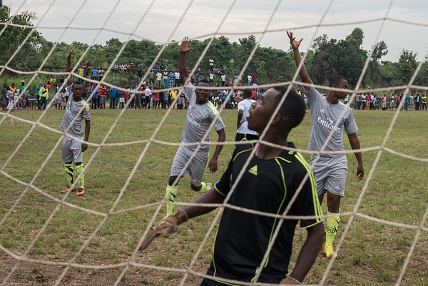 Rural football match - Tsvie, Togo