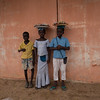 Posing for a photo - Ouida, Benin
