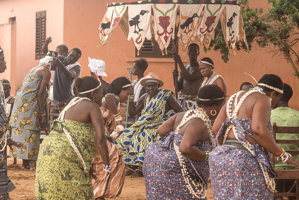 Initiation Ceremony at Souza Family - Ouidah, Benin