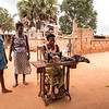The Village's Seamstress - Lome, Togo