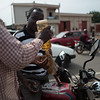 Street Gas Pump Lome, Togo