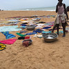 Laundry day at a coast village - Grand Popo, Benin