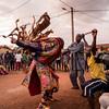 Egungun ceremony - Abomey, Benin