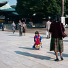 Temple, Tokyo, 1985<br /> Bronica SQ-A, 80mm Kodacolor VR 400
