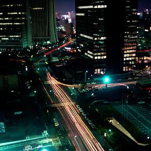 Shinjuku, Tokyo 1985 Bronica SQA, Kodacolor VR100