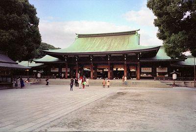 Meji-Jingu Temple