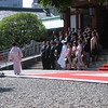 Japanese Wedding Party