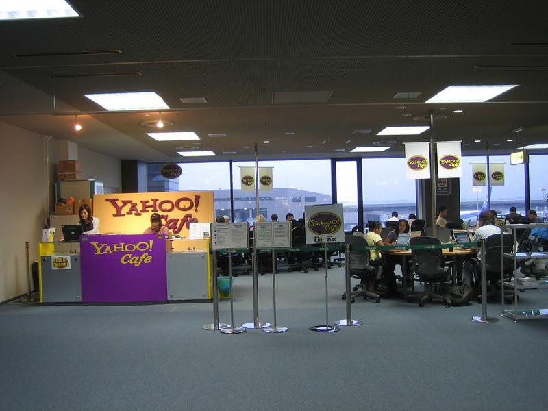 Yahoo! Cafe, Narita Airport