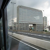 View of Tokyo from inside my tour bus.