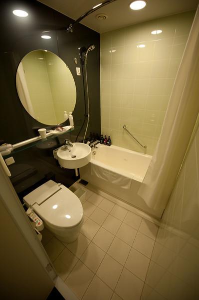 Tokyo Japan Bathroom at the hotel