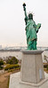 Statue of Liberty and Rainbow Bridge - Tokyo, Japan