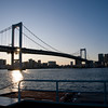 Water bus to Odaiba