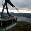 Coming down on the Mt. Komagatake Ropeway