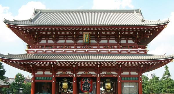 Sensoji Tempe, Tokyo