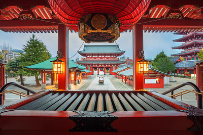 Sensoji Temple.