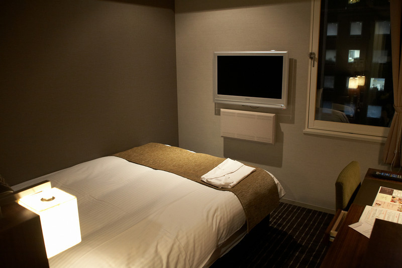 After Kyoto, we stayed in a slightly bigger hotel in the Tamachi district.