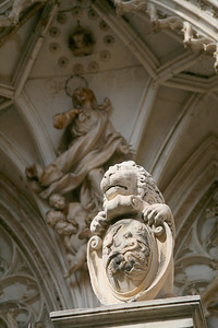 Stone Lion, Toledo Cathedral