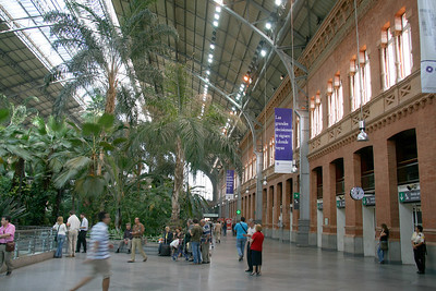 Atocha Renfe station, Madrid