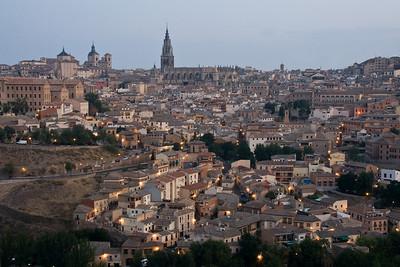 Toledo at dawn