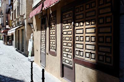 Decorative door and windows