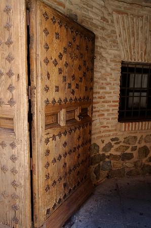 Beautiful door decoration.