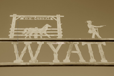 Wyatt sign Tombstone 5784