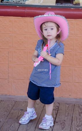 Cowgirl pink hat Tombst 5824