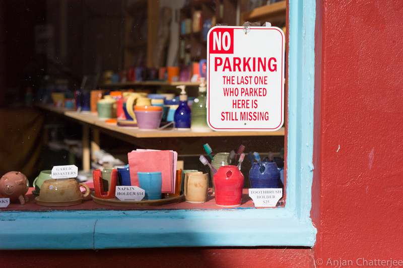 Bisbee, Arizona. No parking!