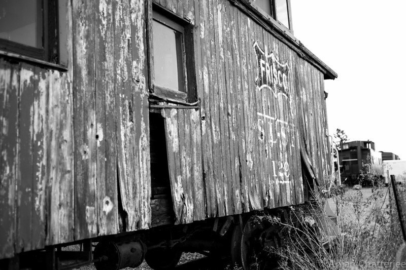 Frisco. Abandoned Railway Car Siding. Tombstone, Arizona