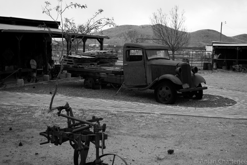 Ghost Town near Tombstone Arizona