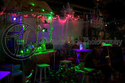 Random streetside bar.