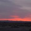 Sunset in Yermo