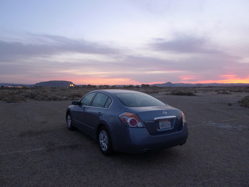 our 2012 Altima for this trip