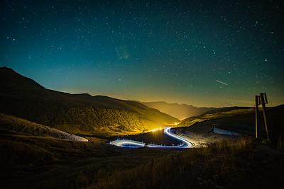 Pyranees Light Trails