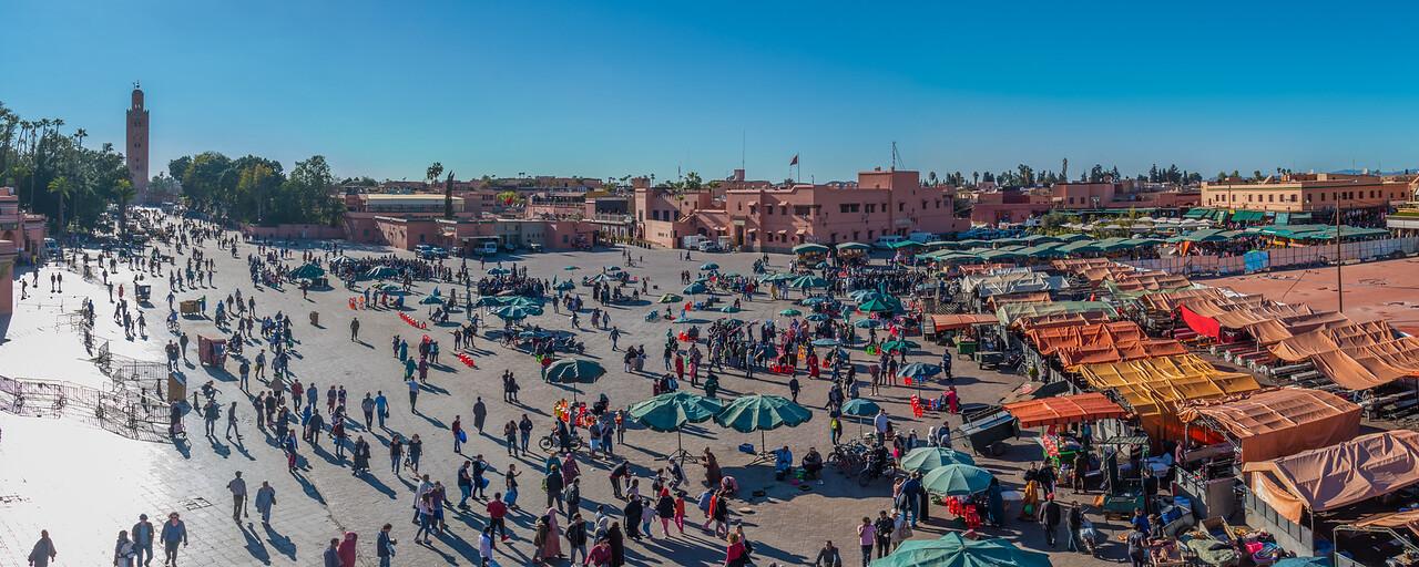 Marrakech Pano from The Grand Balcon