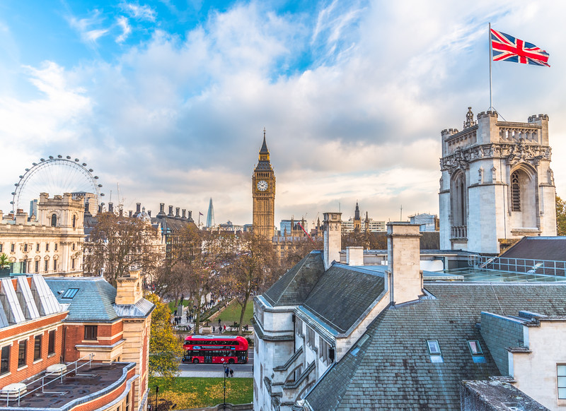Views over Westminster