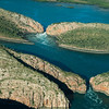 The Horizontal Falls. (named by David Attenboriugh) Kimberly coast. WA.