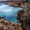 Nullarbor Cliffs. Pre-dawn